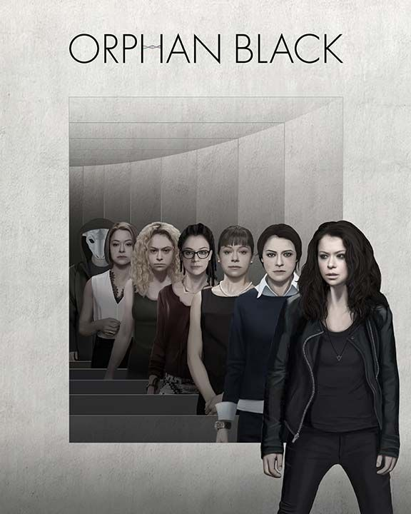 Orphan Black Season 4 Poster Contest - by Amelie A.