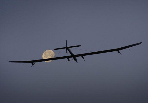 Solar Impulse 2 güneş enerjisiyle Atlas Okyanusu'nu aştı