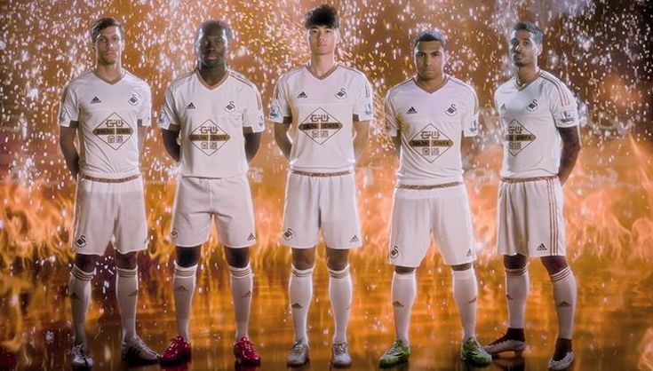 Swansea City 2015-16 adidas Home