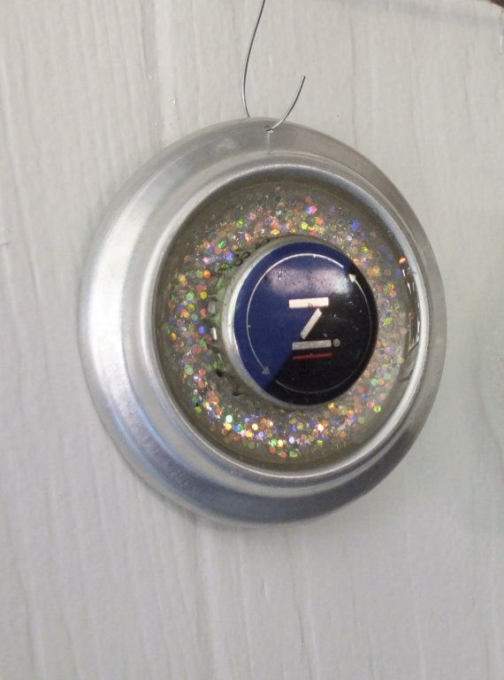 Zima Beer Ornament Recycled by brandyfisher on Etsy