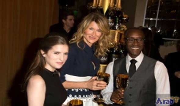 Hollywood parties at razzle-dazzle Golden Globes