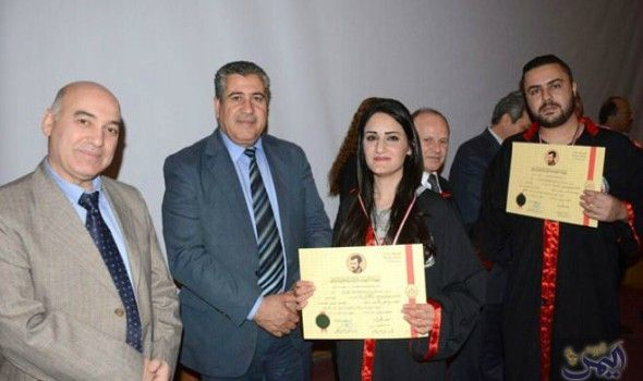 تكريم 46 طالبا وطالبة من الأوائل في الكليات الطبية بجامعة البعث