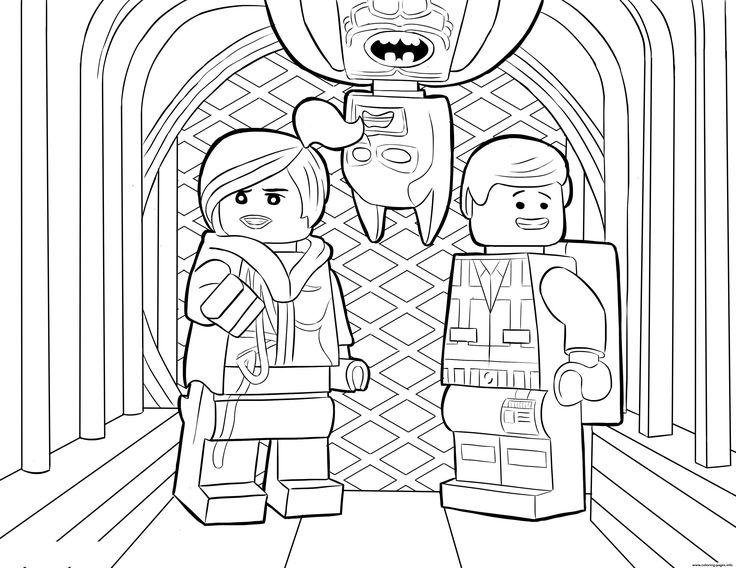 Print Lego Batman Sheet Coloring Pages