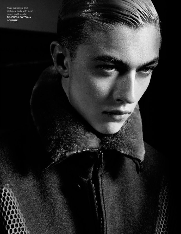Lucky Blue Smith Goes Edgy for LOfficiel Hommes Singapore
