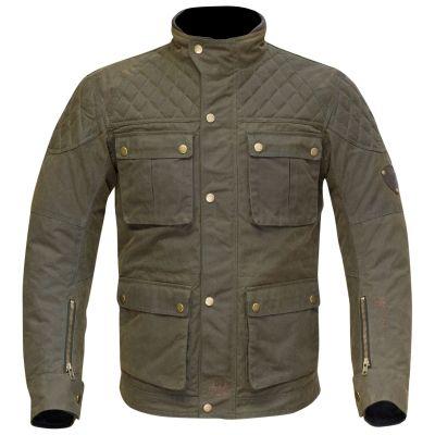 Merlin Armitage Mens Wax Motorcycle Jacket