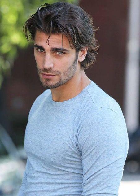 Mario Ermito Male Model Beautiful Men Handsome Eye Candy Beard  E  B E  A