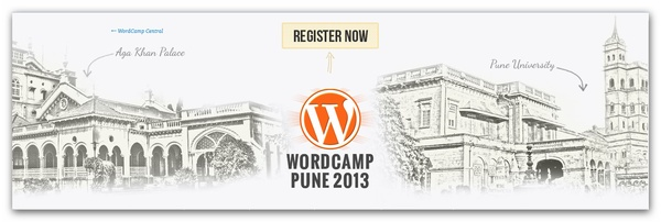 Pune's first WordCamp is organized on 23rd & 24th Feb,2013 . WordCamp is International conference or we can also call it event dedicated to WordPress. Bloggers from all over India will attend this event & share their experience . As I am Punery blogger, I am inviting all you to attend Pune's WordCamp . This post is dedicate