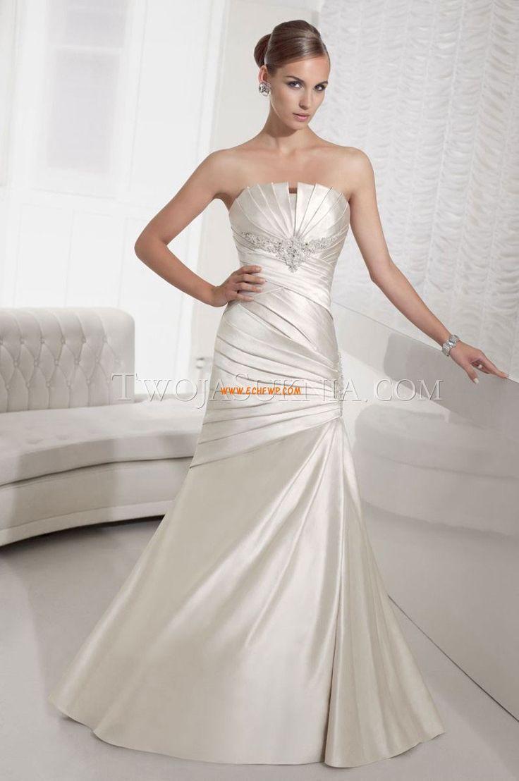 Bez ramínek Léto S křišťálovou aplikací Svatební šaty Litomysl