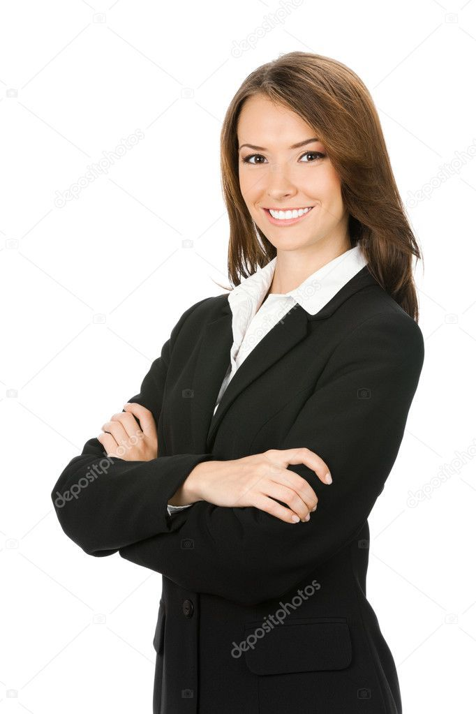 Happy Smiling Business Woman Over White Stock Photo Affiliate Business Smiling Happy Woman Ad Business Women White Stock Image Moody Photography