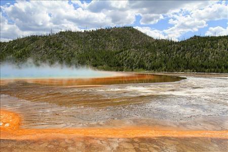 Geyser Pool Colors
