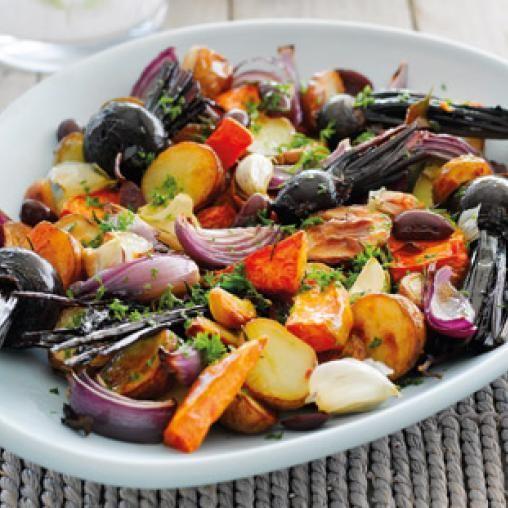 Festive roast vegies | Australian Healthy Food Guide