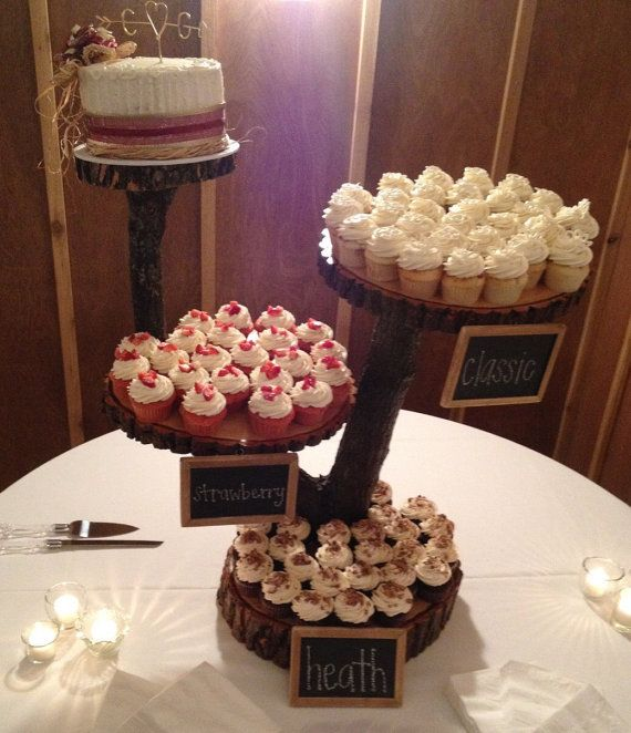 Rustic Wedding Cupcake Ideas: 17 Best Ideas About Wood Cupcake Stand On Pinterest