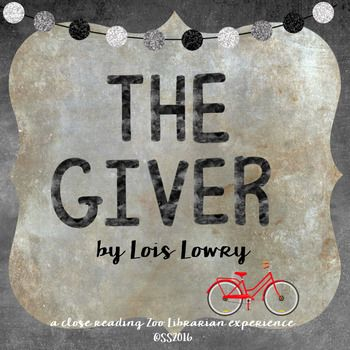 This is a close reading guide to the book The Giver by Lois Lowry. In this classroom classic, Jonas is chosen as the keeper of memory in the extraordinary dystopian society in which he lives. As he gathers memories, he realizes that while a community in which sameness does not exist, there are challenges, however, there is also choice.