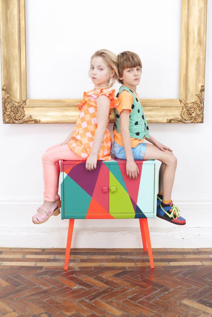 Luna Cover and Editorial #colourblock #kids #fashion #childrens #clothing #hannahcoates #zestoftheloganberry #zotl #photography #luna #magazine #marcjacobs