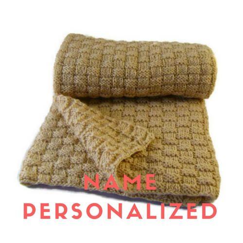 Personalized baby blanket girl gift Baby blanket name girl Newborn blanket name Personalized baby blanket boy Name blanket for baby knitted #nameblanket #personalizetblanket #babyblanket
