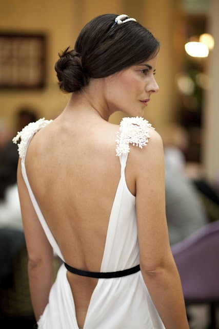 Bodas chic // Chic Weddings: Helena Mareque novia chic #HelenaMareque