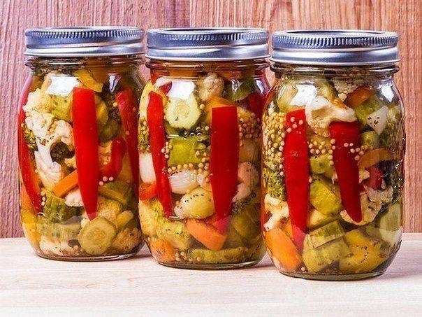 Amestec de legume marinate pentru iarnă (fără sterilizare)! - Retete-Usoare.eu