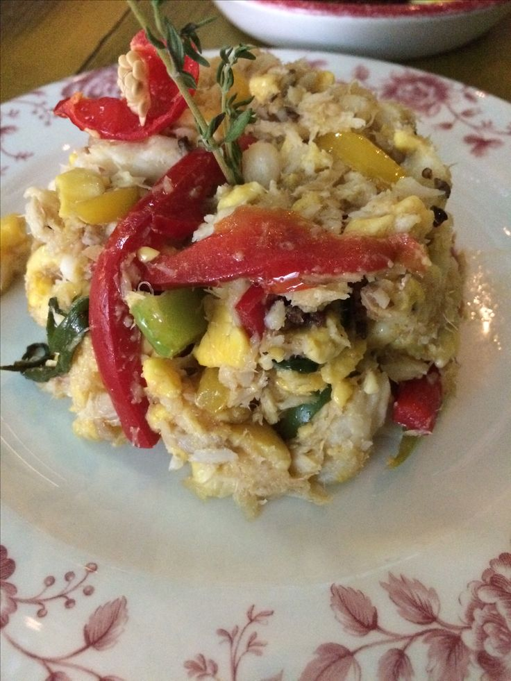 Ackee and saltfish from Levi Roots Restaurant