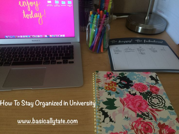 How To Stay Organized in University