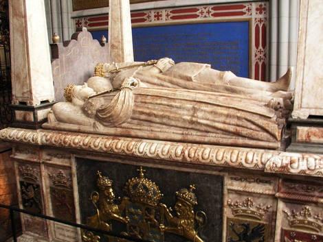 Uppsala domkyrka tomb Gustav Vasa - Sverige