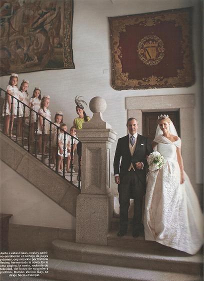 The wedding of Rafael Medina, Duke of Feria and Laura Vecina wedding on Oct 2010