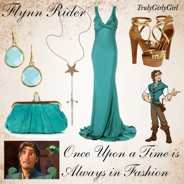 Disney Style: Flynn Rider, created by trulygirlygirl on Polyvore