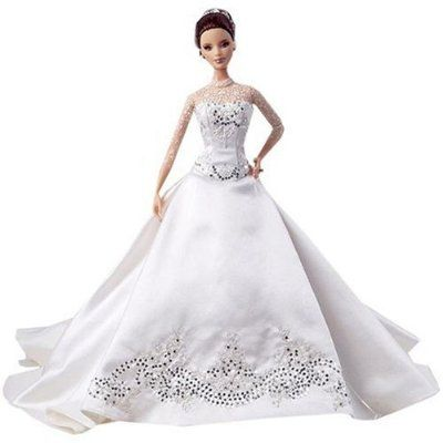 Barbie Wedding Dress in Some Popular Wedding Designers