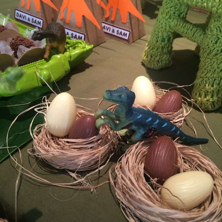 Amazing dinosaur birthday party! See more party planning ideas at CatchMyParty.c…