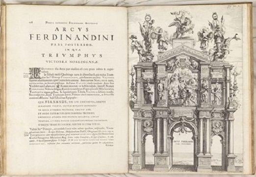 Gevaerts, Jean Gaspard (1593-1666). Pompa introitus honori Serenissimi Principis Ferdinandi Austriaci hispaniarum Infantis S. R. E. Card. Belgarum et Burgundionum gubernatoris