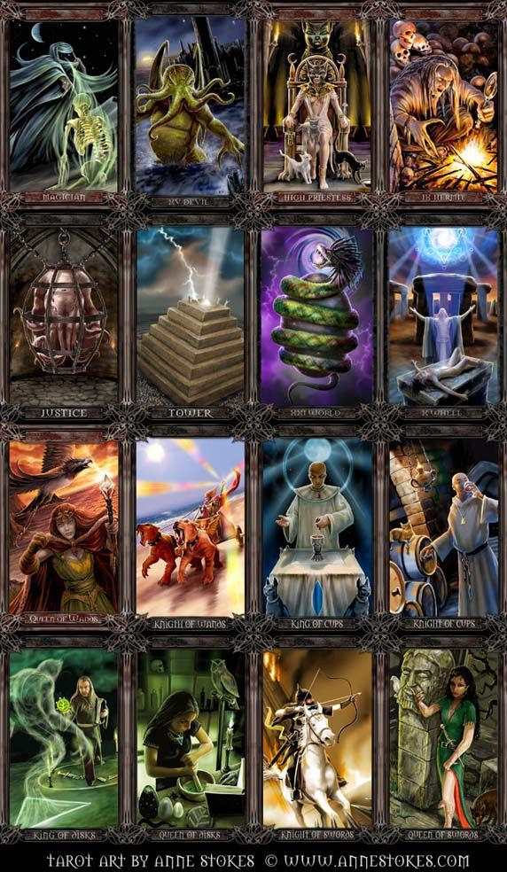 17 Best Images About Beautiful Tarot On Pinterest