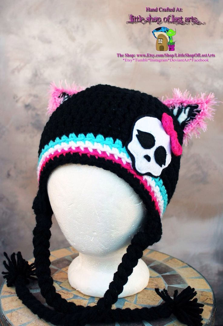 A personal favorite from my Etsy shop https://www.etsy.com/listing/269940812/monster-high-mh-inspired-thick-winter