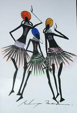 African tribal art More