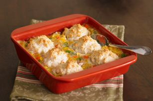 Chicken & Biscuits.  This is a very tasty, easy, comfort food.