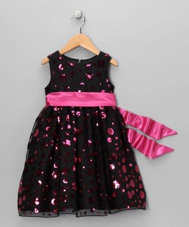 Polka Dot Sequin Dress on #zulily today!  http://www.zulily.com/invite/jpalmer893/p/black-pink-polka-dot-sequin-dress-toddler-girls-27436-2229099.html?tid=social_pinref_shareviaicon_na=2229099