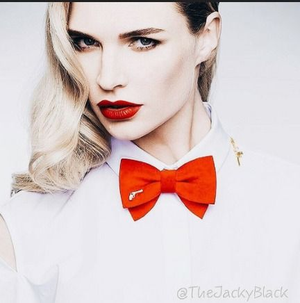 Dressed In White Shirt And Red Bow Tie | Karla | Flickr