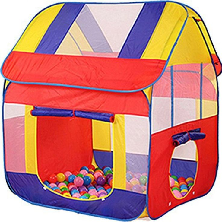 Childrens Play Tent Large Ball Pit Playhouse Pop Up Outdoor Indoor Kids Toy New   | eBay