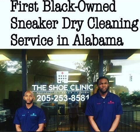First Black-Owned Sneaker Dry Cleaning Service in Alabama
