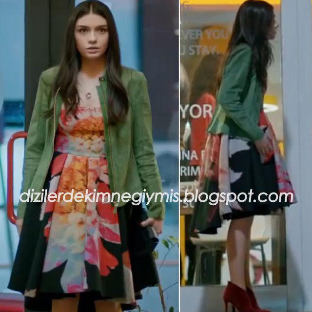 Medcezir - Eylül (Hazar Ergüçlü), H&M Dress