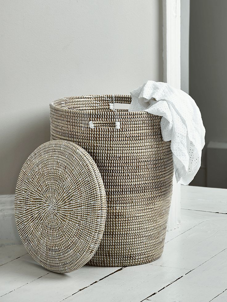 NEW Handwoven Laundry Basket
