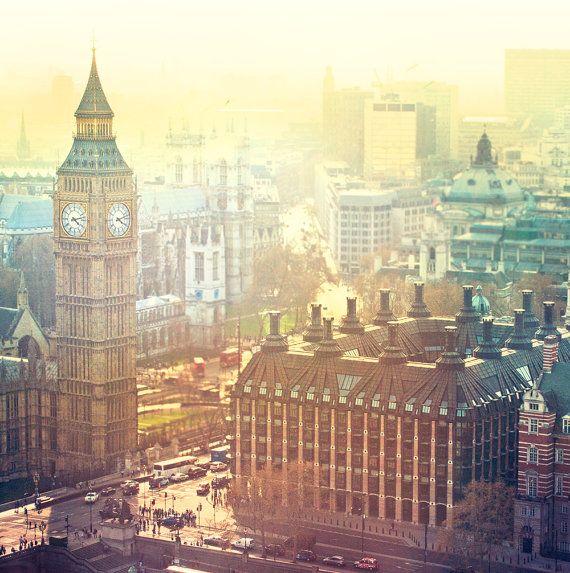 London Calling  UK Big Ben Photography London Large by minagraphy