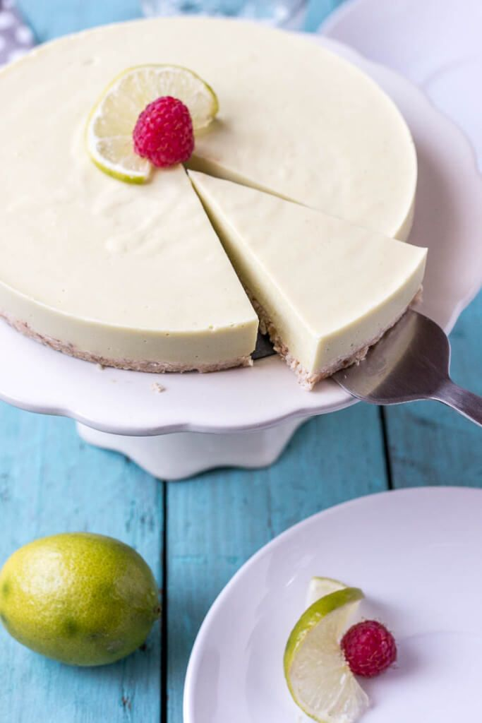 Paleo Key Lime Pie - Rubies & Radishes