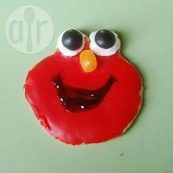 Elmo's verjaardagskoekjes