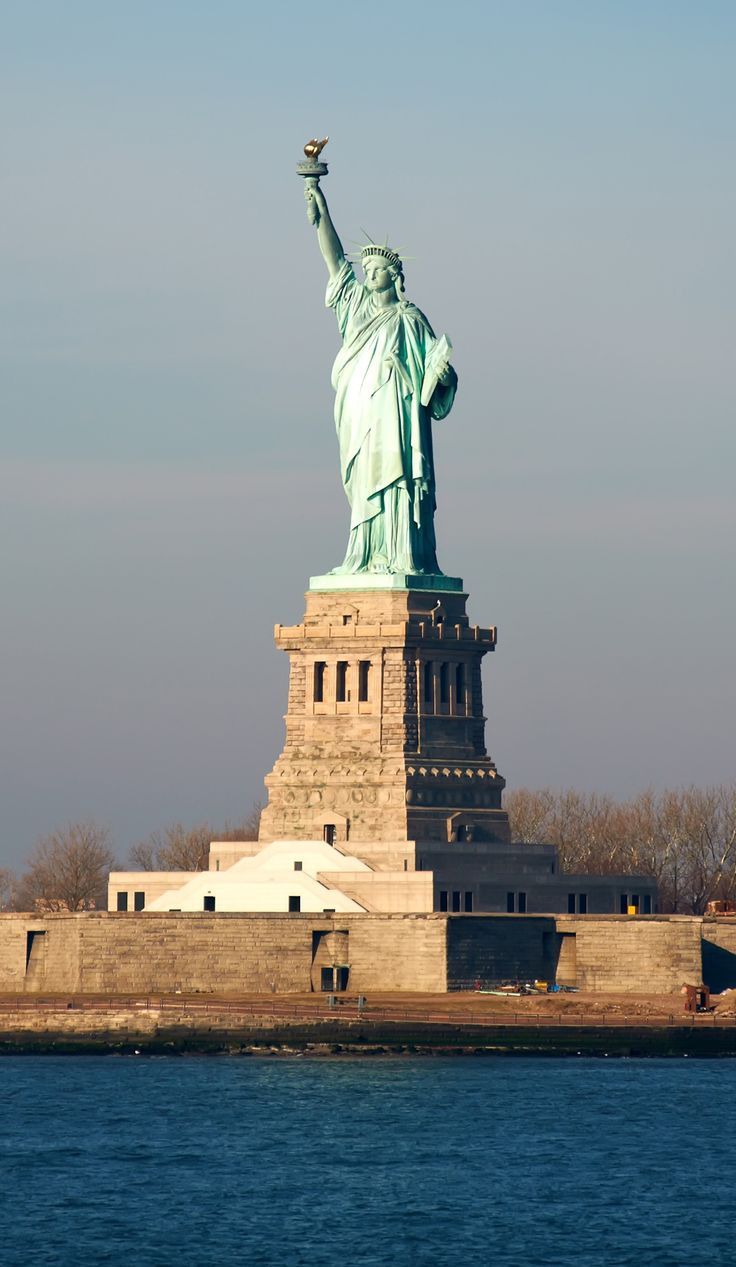 Symbol of Freedom & Liberty - The Statue of Liberty. New York, New York.