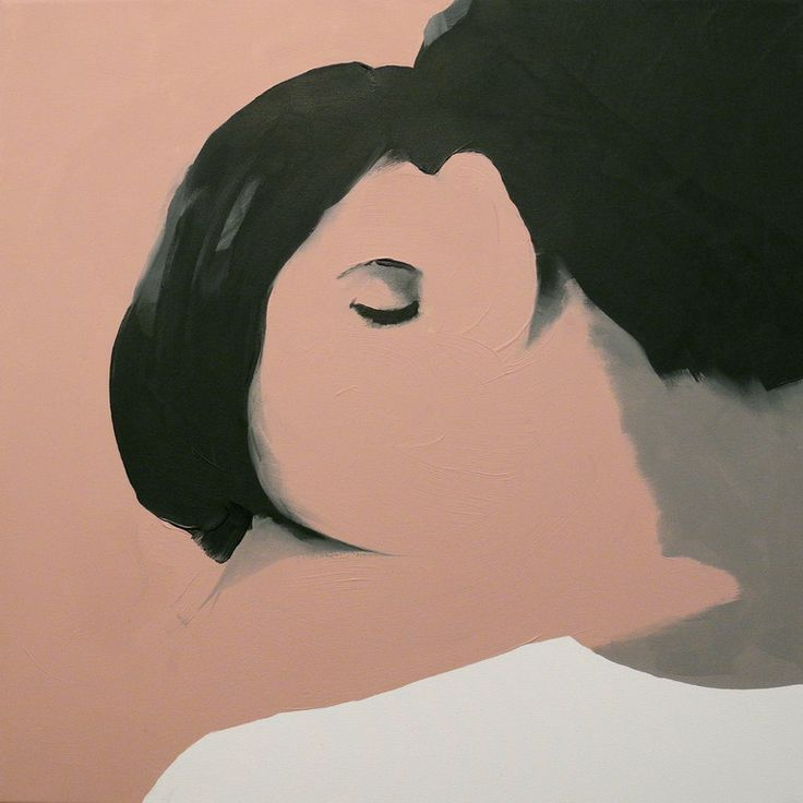 "Artist: Jarek Puczel - Oil Painting, ""Lovers"" 2012"