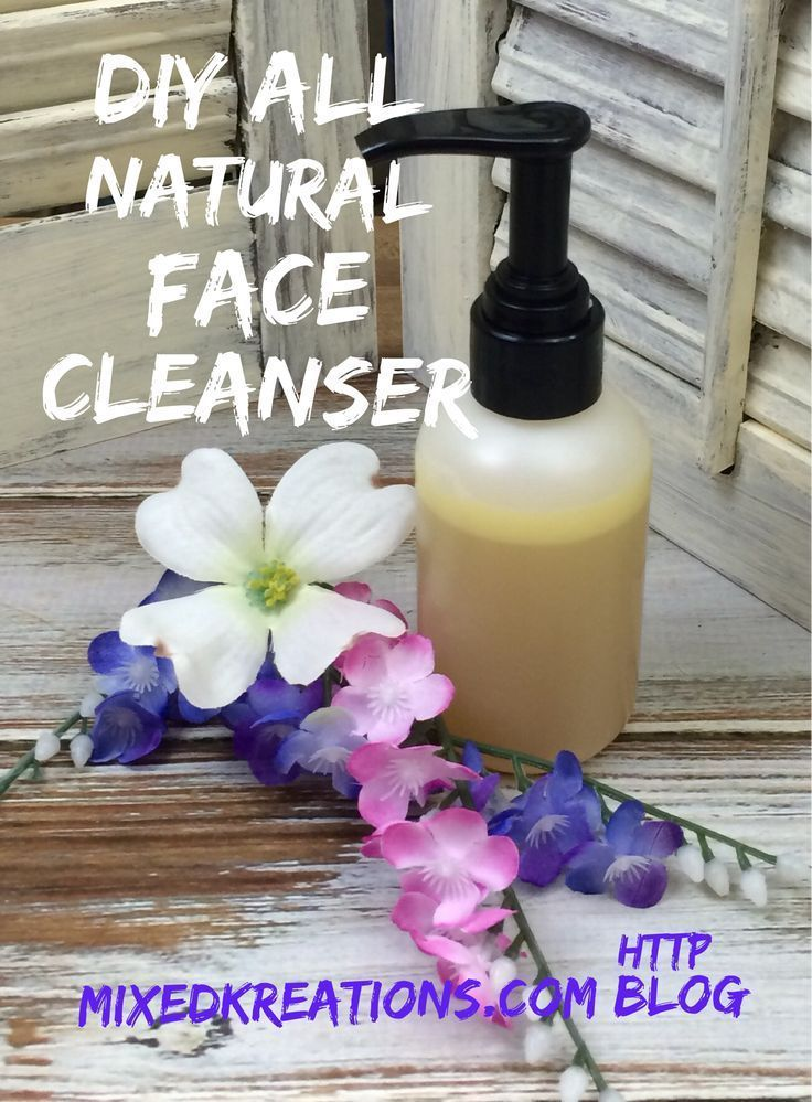 Diy All Natural Face Cleanser – #cleanser #DIY #Fa…