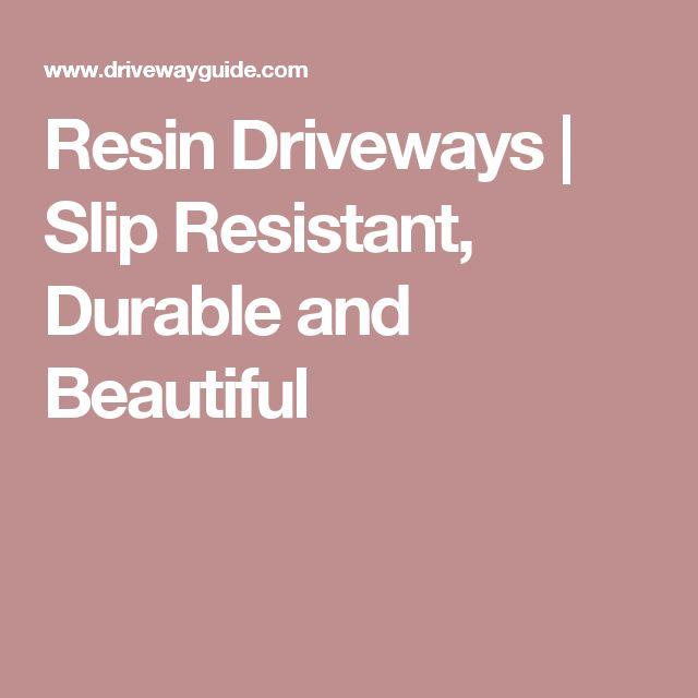 Resin Driveways | Slip Resistant, Durable and Beautiful