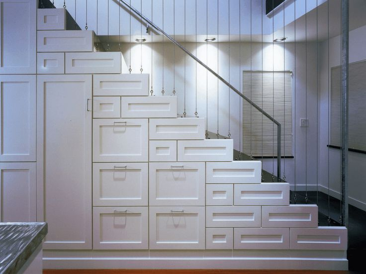 Different Sizes Of White Drawers - Maximize storage potential with drawers and cupboards of different sizes