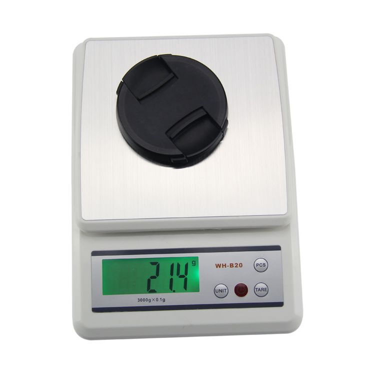 New Digital Electronic Scale 3000gx0.1g 3000g/0.1 Scales LCD Display Kitchen Food Weight Scale E2Shopping