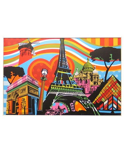 paris pop art. would look great above my bed.