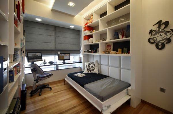Desain Kamar Tidur Kecil Yang Unik - Di setiap rumah, kamar tidur adalah ruang utama dan ruangan paling pribadi bagi pemilik rumah, oleh ka...